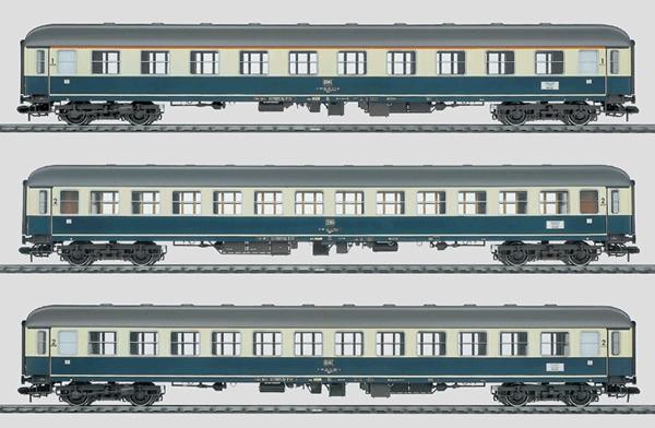 Marklin 58031 - Exp Train Pass Car Set Aumdb 00