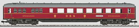 Marklin 58133 - DB @SCHÜRZENWAGEN@ PASS CAR 06