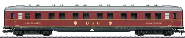 Marklin 58145 - DSG Schürzenwagen Skirted Sleeping Car, Era III