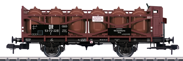 Marklin 58727 - DR VEB Zellstoffwerke Pirna Acid Transport Car, Era III