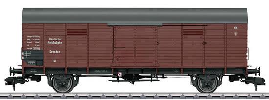 Marklin 58842 - German Boxcar type GI Dresden of the DRG