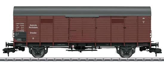 Marklin 58843 - German Boxcar type GI Dresden of the DRG
