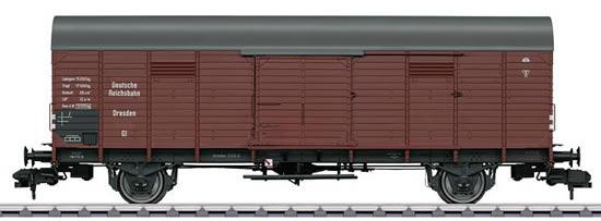 Marklin 58844 - German Boxcar type GI Dresden of the DRG