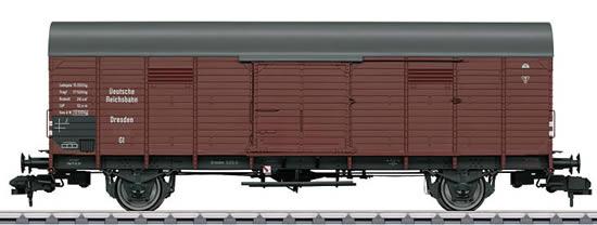 Marklin 58845 - German Boxcar type GI Dresden of the DRG