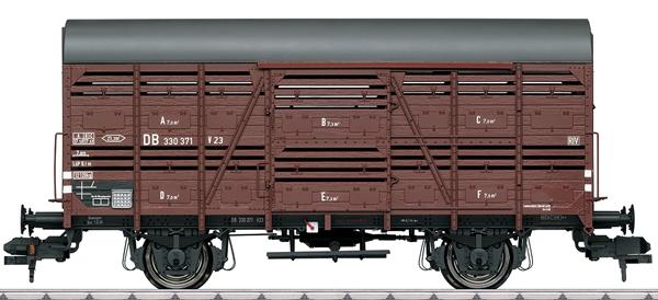Marklin 58902 - DB Type V 23 Interchange Design Livestock Car, Era III