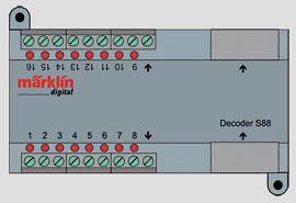Marklin 60882 - Decoder s 88 DC