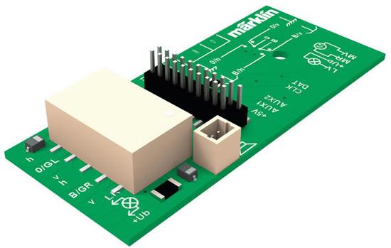 Marklin 60973 - Pickup Shoe Changeover Circuit Board