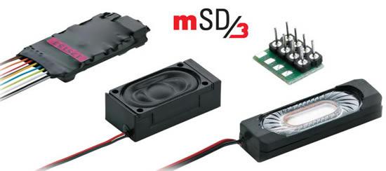 Marklin 60986 - Märklin mSD3 SoundDecoder