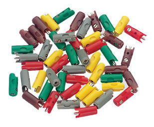 Marklin 71415 - PLUGS - RED 10/PK 05