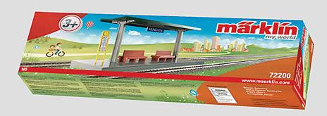 Marklin 72200 - My World Station Platform Building Kit