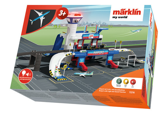 Marklin 72216 - Airport Building with light & sound functions (my world)