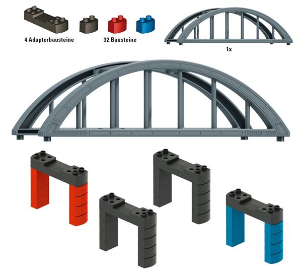 Marklin 72218 - Building Block Set for Elevated Railroad Bridge, my world