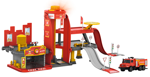 Marklin 72219 - Fire Station with Light & Sound Function, my world