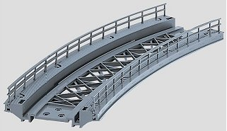 Marklin 7267 - K/M BRIDGE RAMP 14-1/8 R.