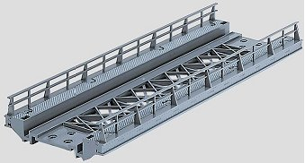 Marklin 7268 - K/M BRIDGE RAMP STR 7-1/8