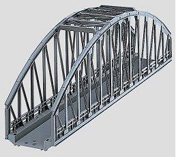 Marklin 74636 - C TRACK ARCHED BRIDGE 14-3/16 99