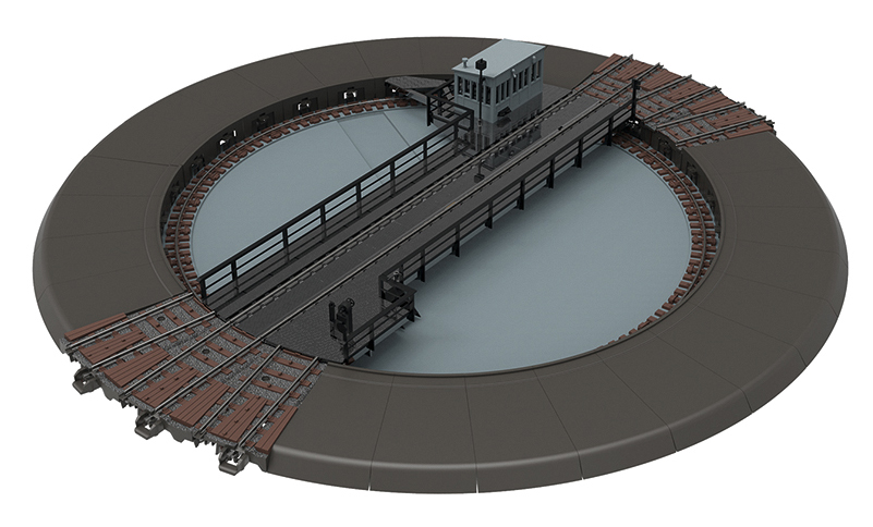 Marklin 74861 - C Track Turntable
