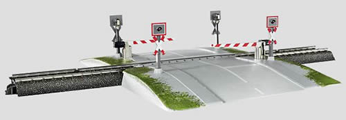 Marklin 74923 - Fully Automatic Railroad Grade Crossing
