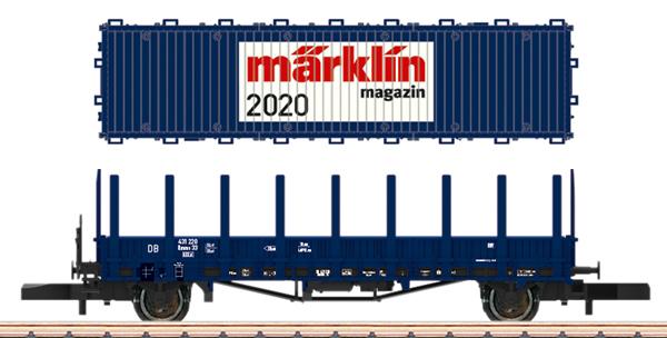 Marklin 80830 - Märklin Magazin Z Gauge Annual Car for 2020