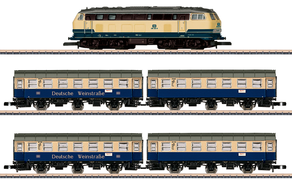 Marklin 81306 - German Wine Road Train Set