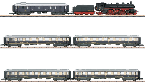 Marklin 81332 - DRG 90 Years of the Rheingold Train Set