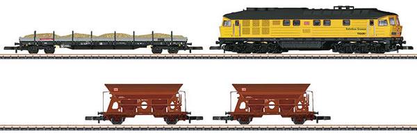 Marklin 81451 - German Construction Train set of the DB AG