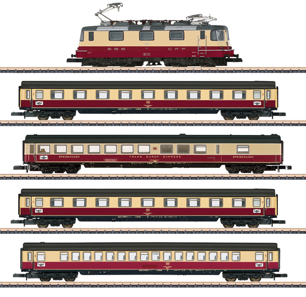 Marklin 81593 - SBB TEE 75 Roland Train Set, Era IV