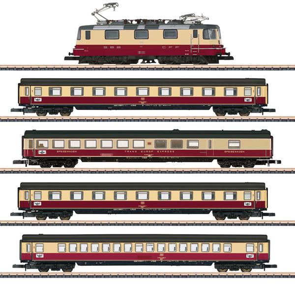 Marklin 81593 - SBB TEE 75 Roland Train Set, Era IV