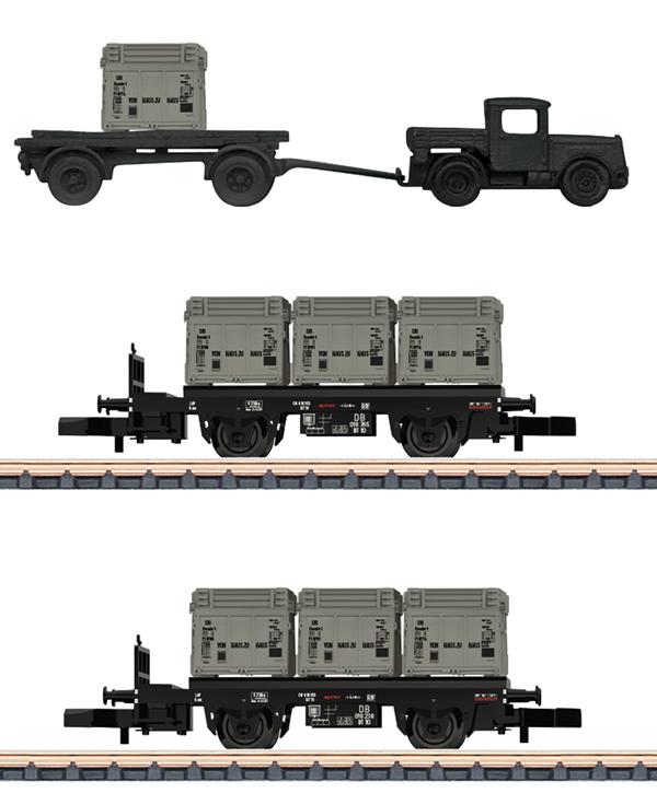 Marklin 82329 - DB From Door to Door Freight 2-Car Set, Era III