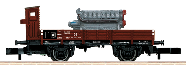 Marklin 82334 - DB Type X05 Low Side Car with Diesel Motor Load, Era III