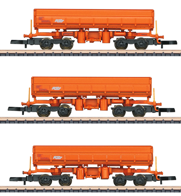 Marklin 82435 - RTS Type Eamos Side Dump 3-Car Set, Era VI