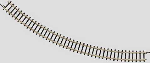 Marklin 8520 - Z CURVED TRACK 7-11/16  45°