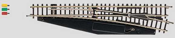 Marklin 8563 - Z TURNOUT RIGHT REMOTE