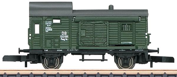 Marklin 86090 - German Freight Train-Baggage Car Pwg Pr 14 of the DB