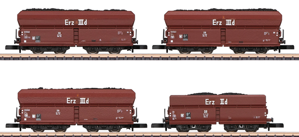 Marklin 86307 - DB Coal Traffic Freight 4-Car Set, Era IIIa