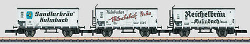 Marklin 86395 - German 3pc Beer Car Set of the DB