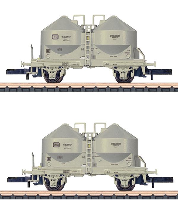 Marklin 86665 - DB Type Ucs 908 Powdered Freight Silo 2-Car Set, Era IV