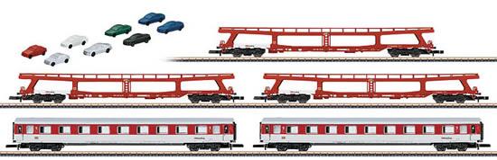 Marklin 87092 - German 5pc Auto Train Inc. Car Set of the DB