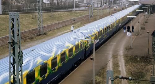 Marklin 87300 - German Passenger Car Set tourist train of the DB AG - MHI 25 Year Anniversary