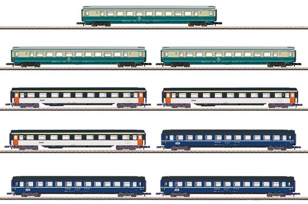 Marklin 87408 - 9pc Passenger Coach Set
