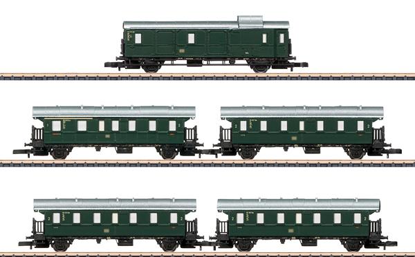 Marklin 87507 -  DB Höllentalbahn Passenger 5-Car Set, Era IIIb