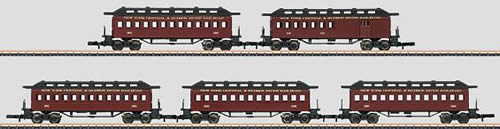 Marklin 87911 - NYC & Hudson Passenger 5-Car Set