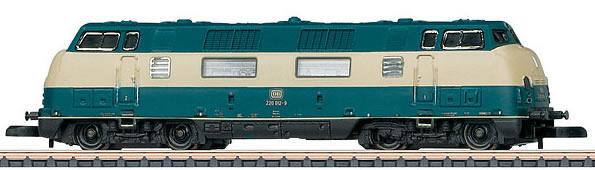 Marklin 88202 - German Diesel Locomotive Class 220 of the DB