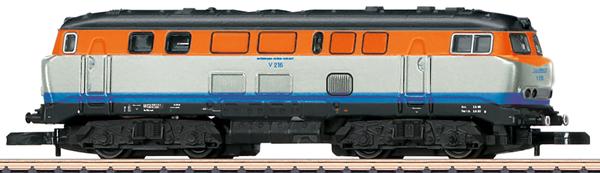 Marklin 88669 - German Diesel Locomotive V 216 of the WEG