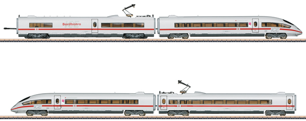 Marklin 88715 - German ICE 3 406 MF High Speed Powered Rail Car Train of the DB AG