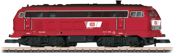 Marklin 88780 - German Diesel Locomotive 218 of the DB