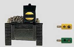 Marklin 8931 - Z TRACK BUMPER W/LIGHT