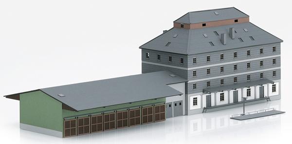 Marklin 89705 - Kit Raiffeisen Warehouse with Market