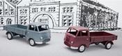 Flatbed Truck Set for Tempo Hochlader - INSIDER MODEL