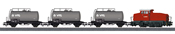 German Petroleum Oil Transport Train Set of the DB AG - Start-up